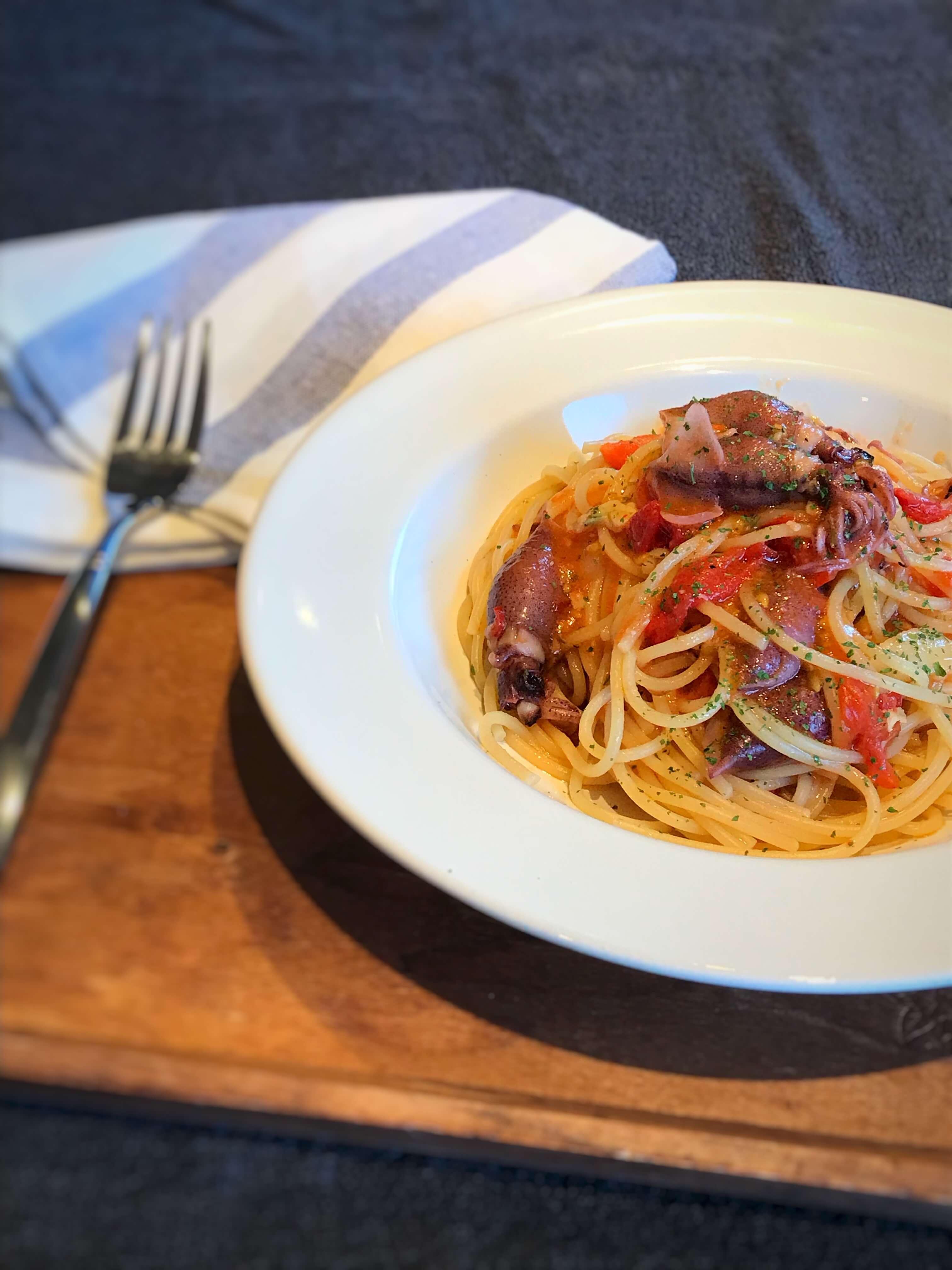 【本格的!】絶品!富山県産ホタルイカとトマトのパスタのレシピ