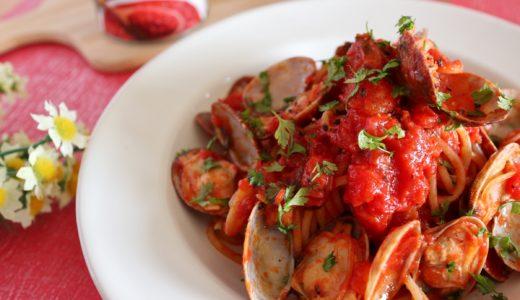 【絶品!】あさりとトマトでボンゴレロッソ