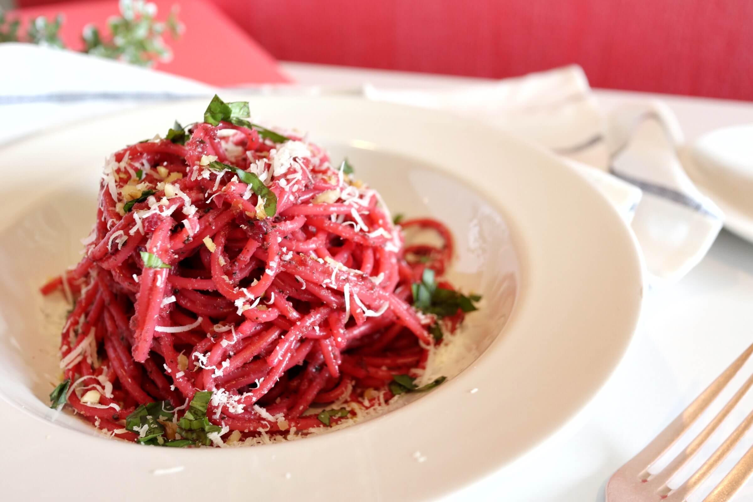 【栄養満点!】ビーツでピンクパスタのレシピ