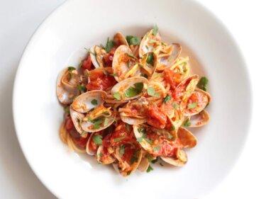 【絶品!】あさりとトマトでボンゴレロッソのレシピ
