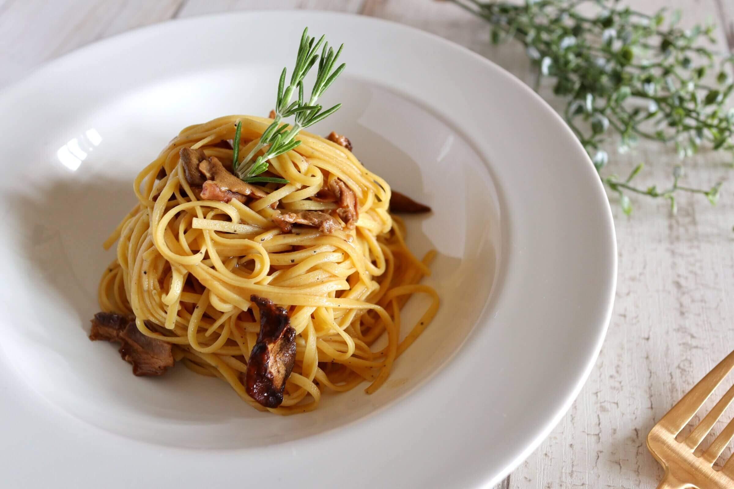 【絶品!】ポルチーニ茸のトリュフパスタのレシピ