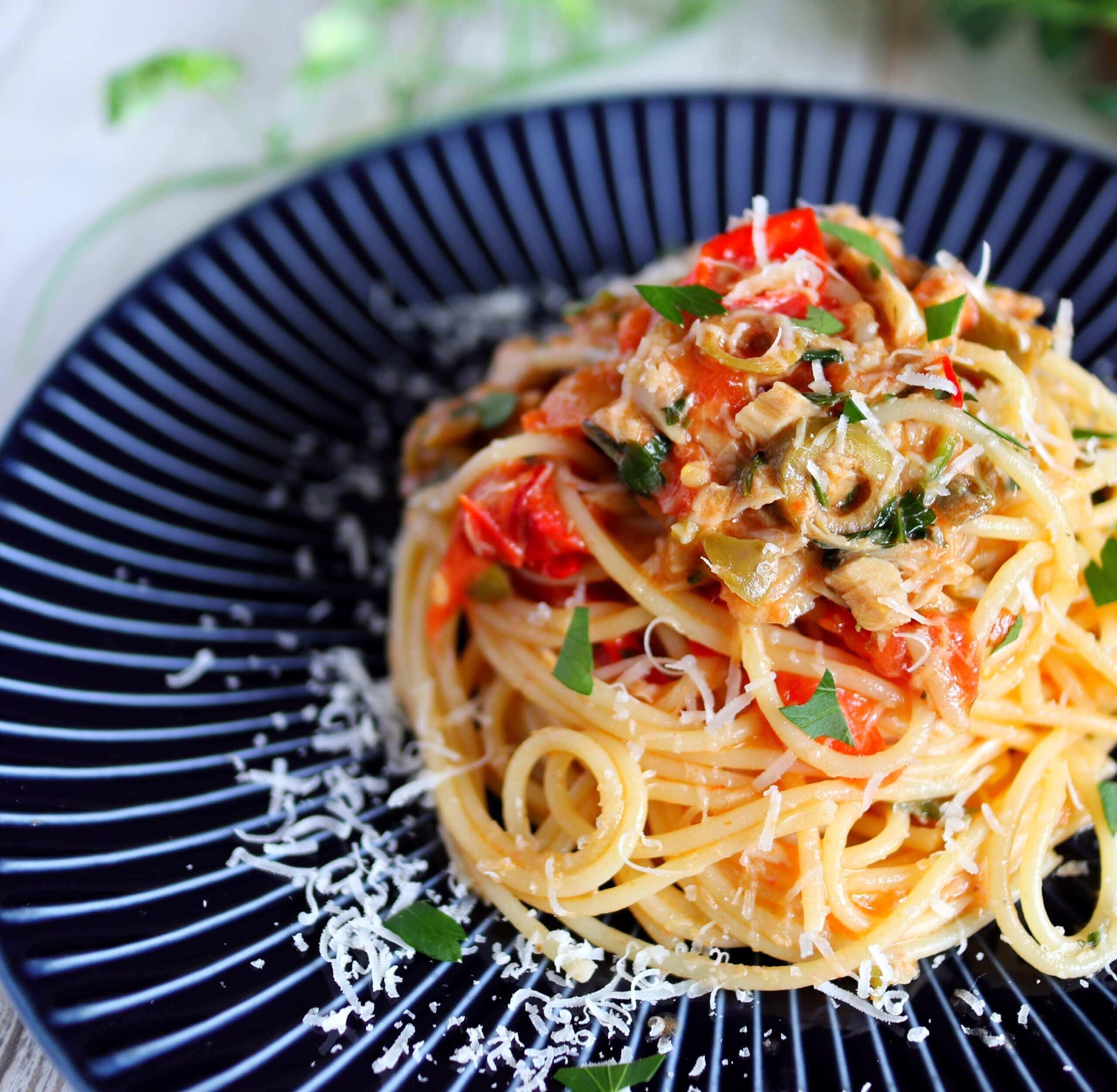 【絶品!】ツナのシチリア風プッタネスカのレシピ