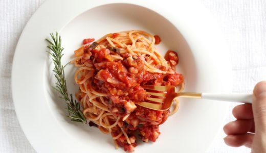 【大絶賛!】たこのトマトパスタ