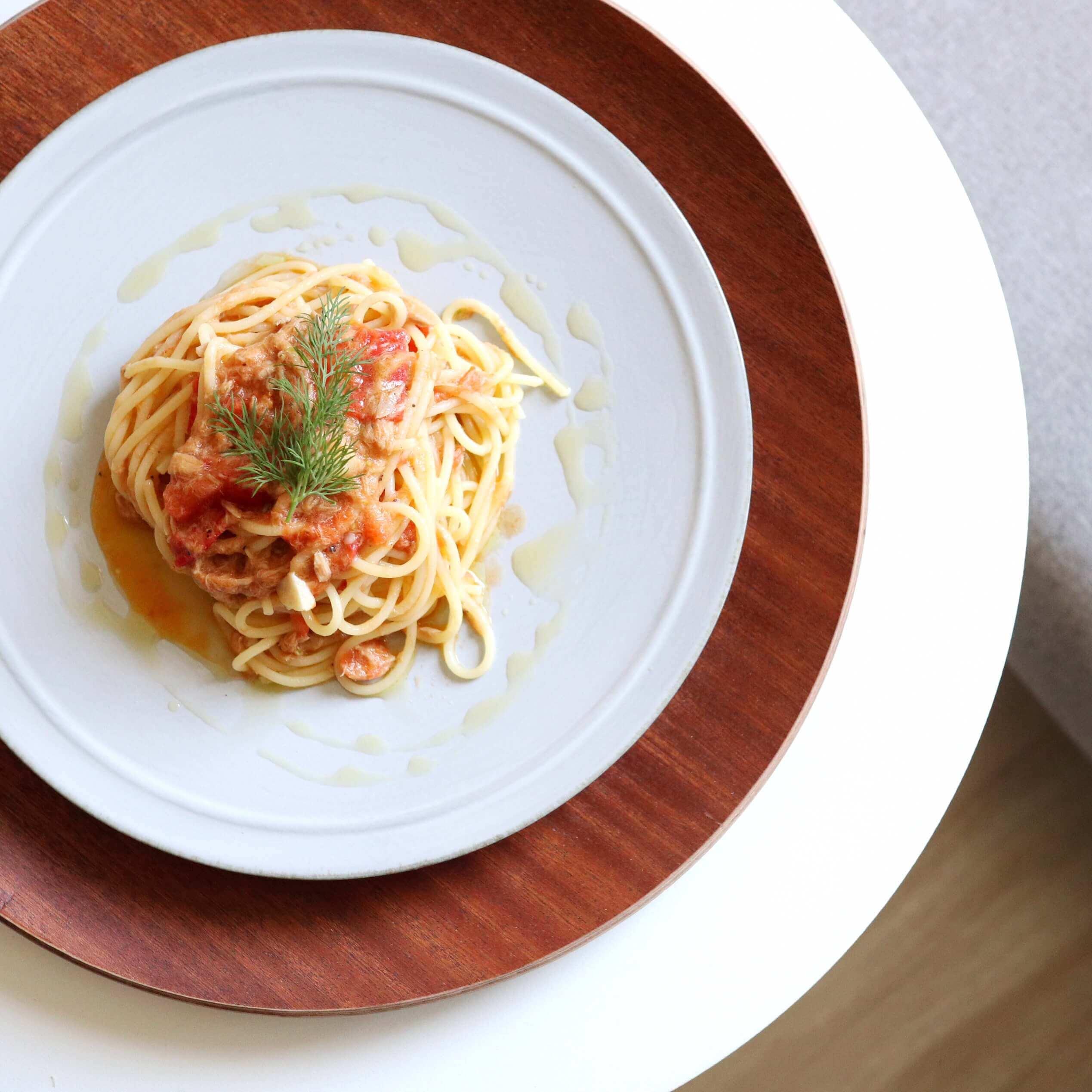 【超簡単!】ツナとトマトのオイルパスタのレシピ