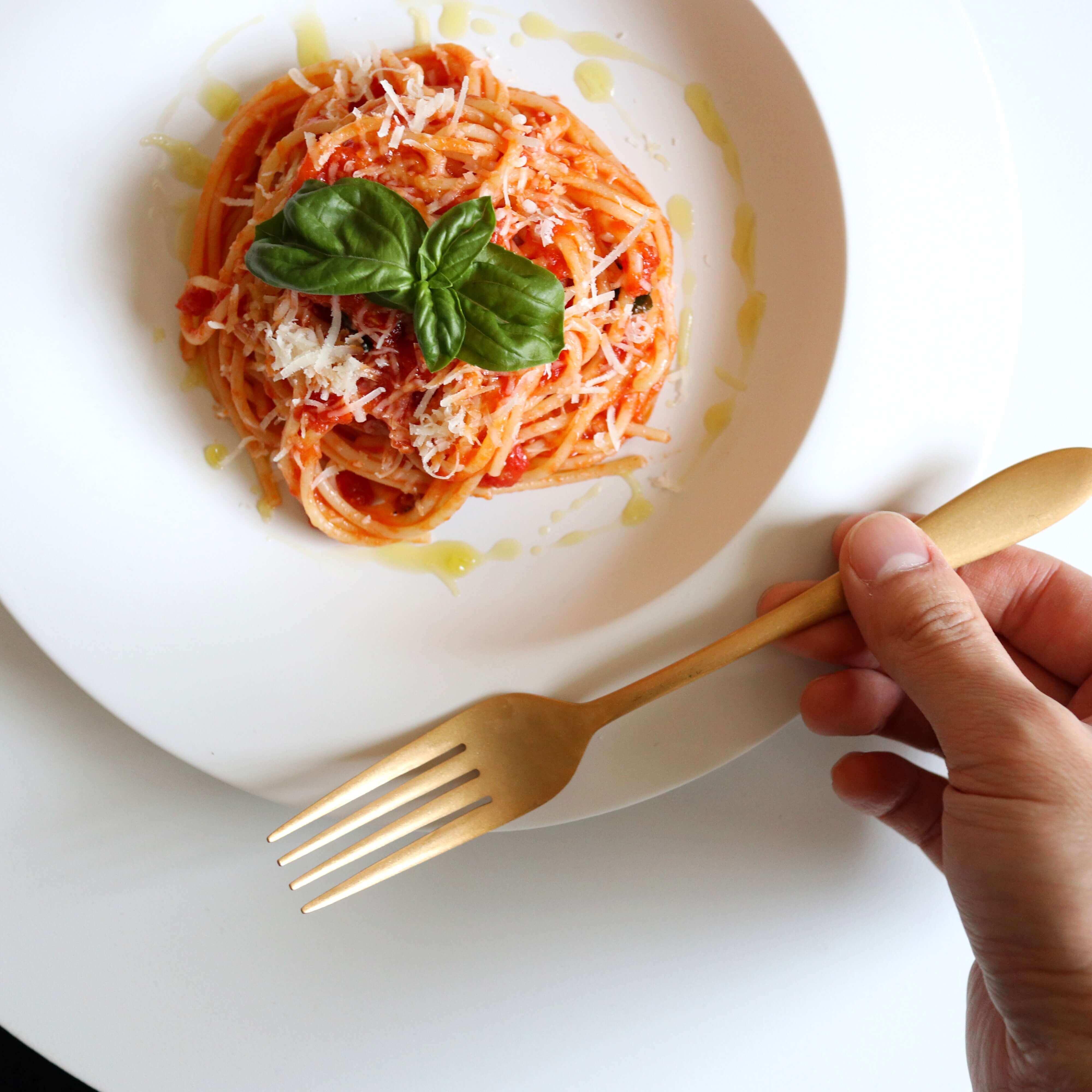 【簡単激うま!】スパゲッティ・ポモドーロのレシピ