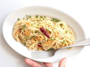 【簡単プロ味】ツナ缶ペペロンチーノのレシピ