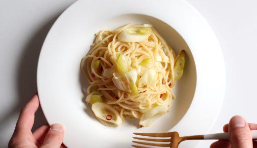【トースターで簡単!】千住葱のペペロンチーノ