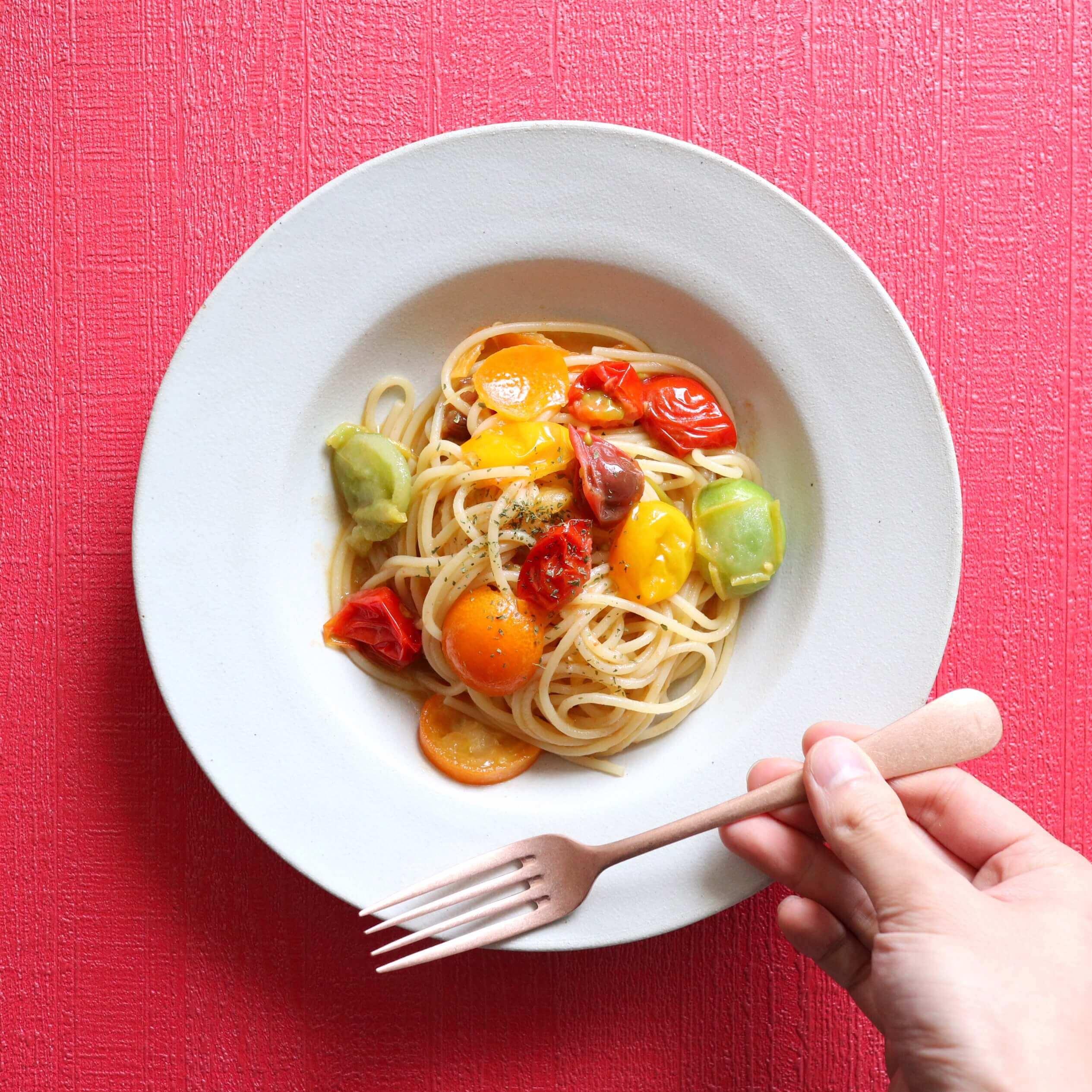 【絶品】金柑とトマトのオイルパスタのレシピ