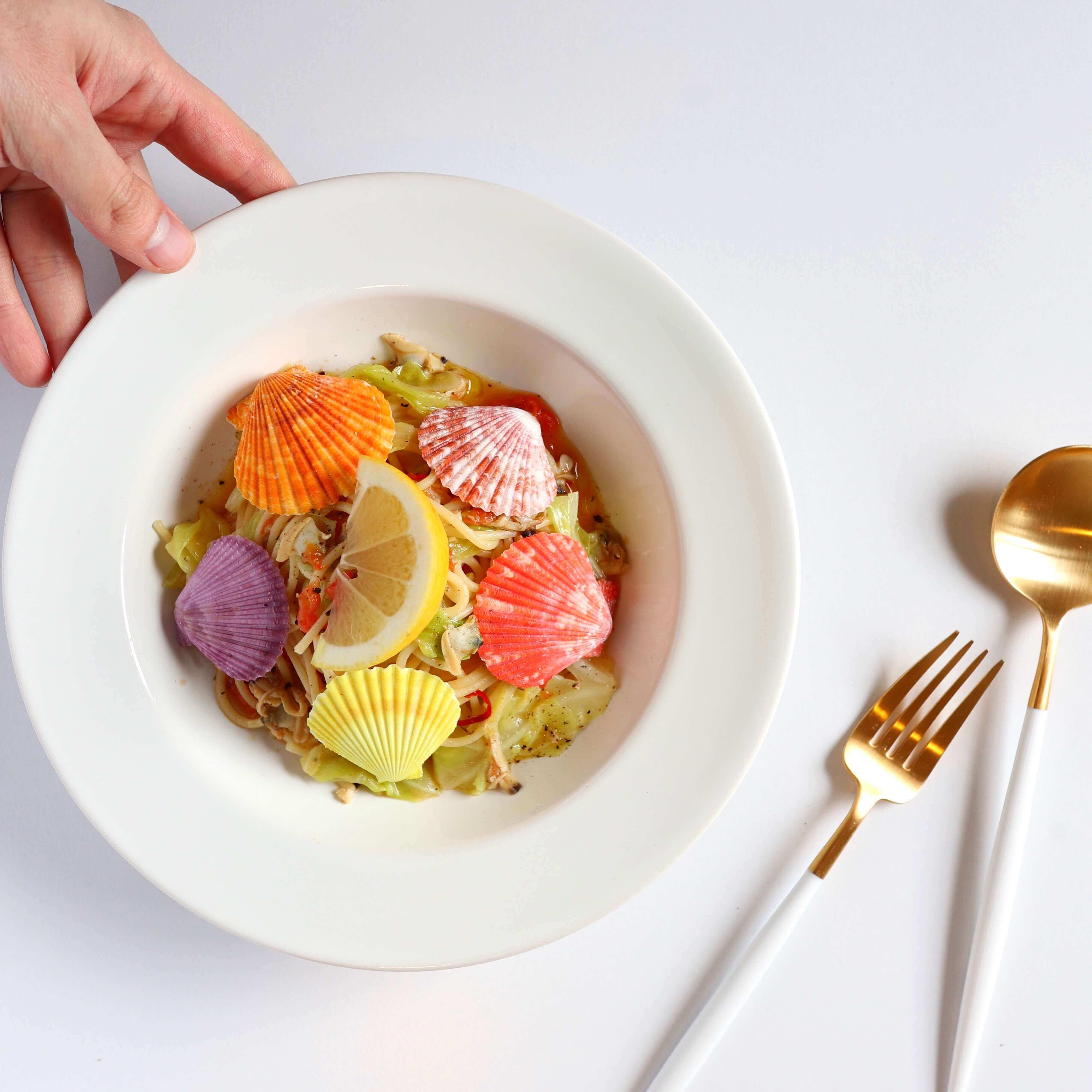 【おしゃうま】マーメイドスパゲッティのレシピ