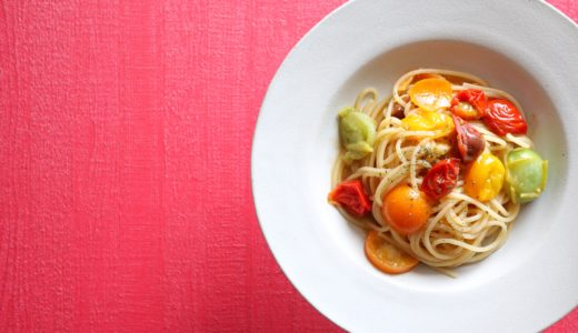 【絶品!】金柑とトマトのオイルパスタ