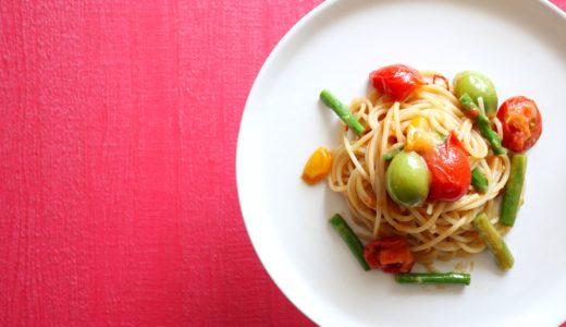 【絶品!】アスパラとトマトのアンチョビパスタ