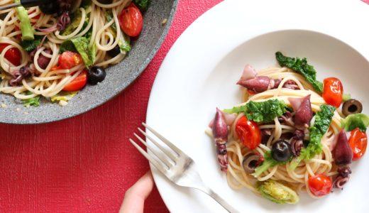 【春の味!】ホタルイカとプチヴェールのパスタのレシピ