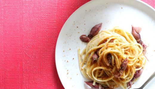【絶品!】ホタルイカとからすみのオイルパスタのレシピ