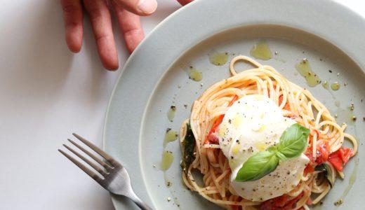 【絶品!】フレッシュトマトとモッツァレラのパスタ