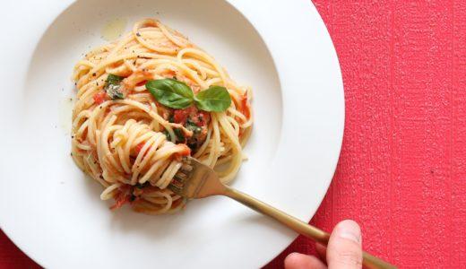 【簡単美味しい!】ツナとバジルのトマトパスタのレシピ