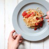 ミニトマトとケッパーのオイルパスタ