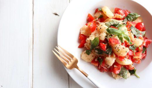 【簡単美味しい!】完熟桃の冷製パスタのレシピ