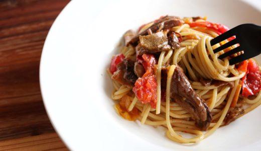 【本格的!】ポルチーニとトマトのオイルパスタのレシピ