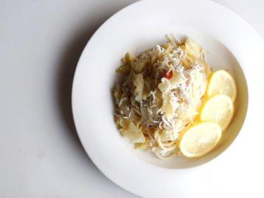 【さっぱりランチに】しらすとキャベツのレモンオイルパスタのレシピ