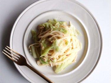 【超簡単!】ツナとキャベツのペペロンチーノのレシピ