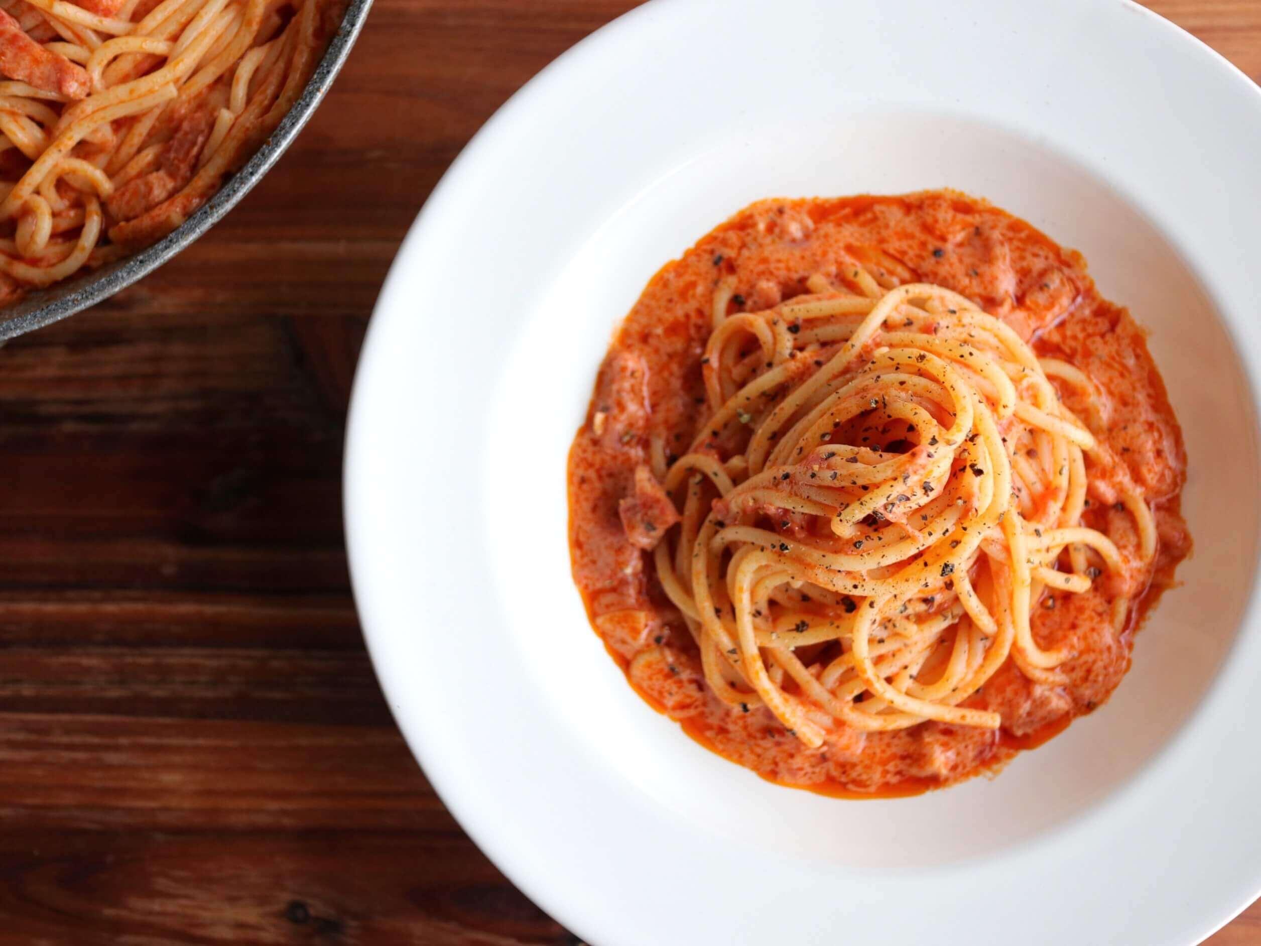 トマト 缶 パスタ