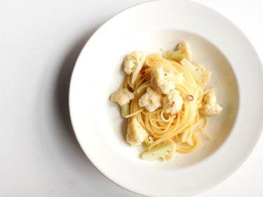 【超簡単】カリフラワーのペペロンチーノのレシピ