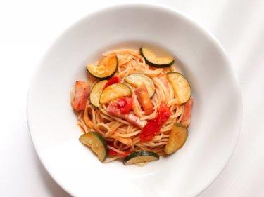 【絶品!】ズッキーニとミニトマトのパスタのレシピ