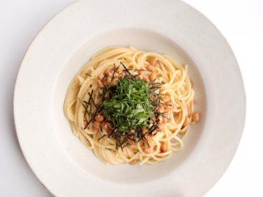 【超簡単!】梅干しと納豆のずぼらパスタのレシピ