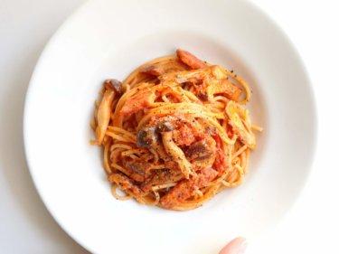 【お店の味!】本格トマトクリームパスタのレシピ