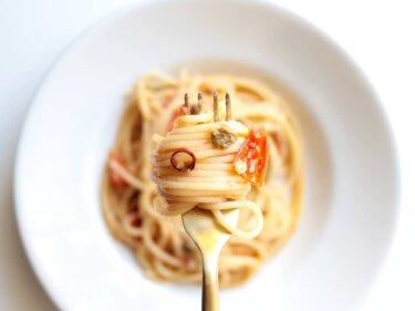 【簡単おいしい!】ミニトマトとケッパーのパスタのレシピ